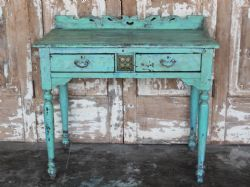 Decorative Vintage Colonial Desk, North India <b>SOLD<b>